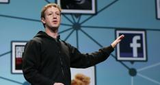El fundador de Facebook, Mark Zuckerberg