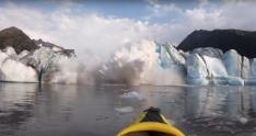 video, glaciar, Alaska, glaciar Spencer, exploradores, derrumbe de glaciar,